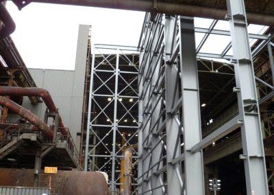 ArcelorMittal   Erweiterung einer Ofenhalle   Duisburg