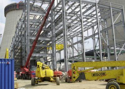 RWE Power AG   Stahlbau für Kraftwerk Lingen