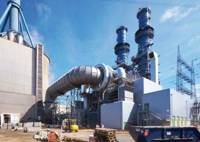 RWE Power AG   Stahlkonstruktion für Kraftwerk Lingen