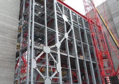 RWE Power AG   Stahlbau für Steinkohlekraftwerk Eemshaven
