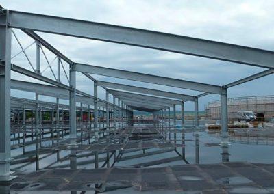 RATIO-Land Baunatal   Einkaufszentrum mit überdachtem Parkdeck