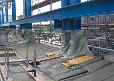 Smurfit Kappa Zülpich Papier   Aufstockung einer Produktionshalle in Hamburg